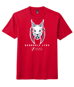 Legacy Traditional School Avondale - Red Spirit Wear Shirt
