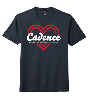 Legacy Traditional School Cadence - Navy Spirit Day Shirt