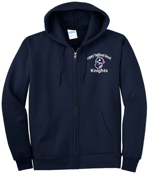 Legacy Traditional School Cadence - Zip Up Hoodie