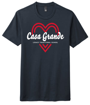 Legacy Traditional School Casa Grande - Navy Spirit Wear Shirt