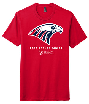 Legacy Traditional School Casa Grande - Red Spirit Wear Shirt