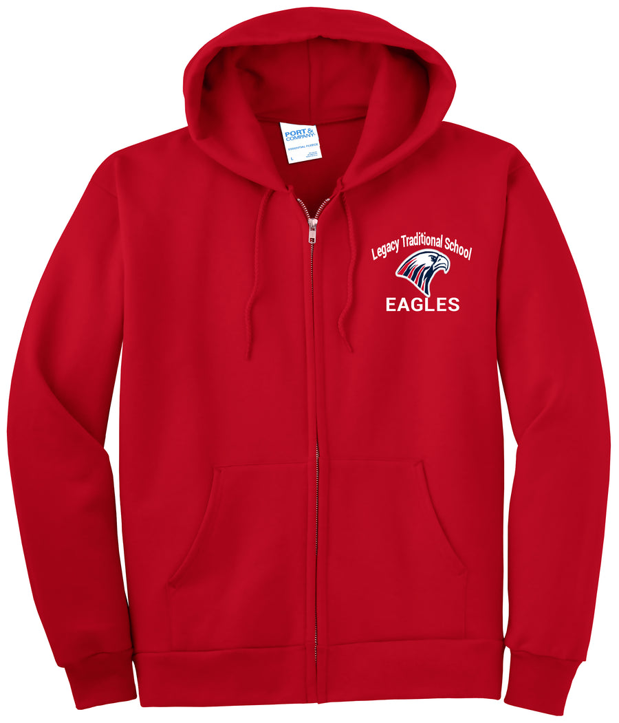 Legacy Traditional School Casa Grande - Zip Up Hoodie