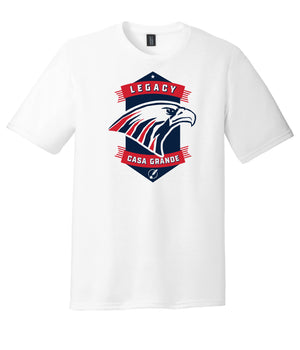 Legacy Traditional School Casa Grande - White Spirit Day Shirt w/Mascot