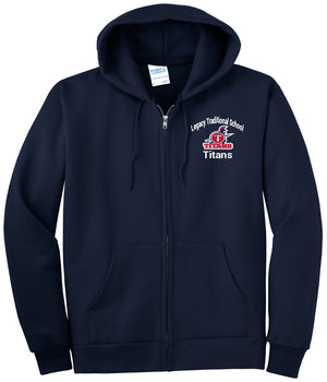 Legacy Traditional School Chandler - Zip Up Hoodies