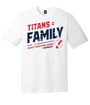 Legacy Traditional School Chandler - White Spirit Day Shirt