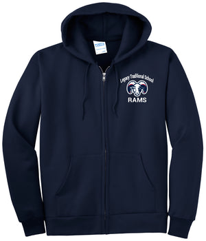 Legacy Traditional School East Mesa - Zip Up Hoodie