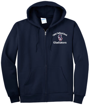 Legacy Traditional School Glendale - Zip Up Hoodies