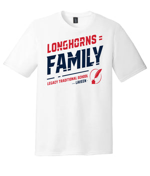 Legacy Traditional School Laveen - White Spirit Day Shirt
