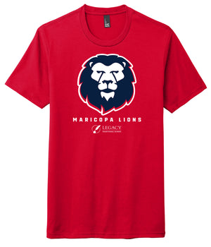 Legacy Traditional School Maricopa - Red Spirit Wear Shirt