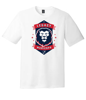 Legacy Traditional School Maricopa - White Spirit Day Shirt w/Mascot