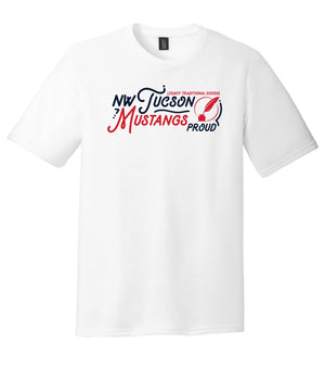 Legacy Traditional School NW Tucson - White Spirit Day Shirt w/Quill