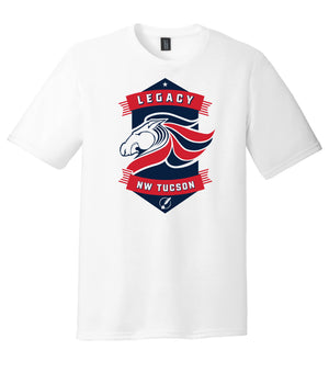 Legacy Traditional School NW Tucson - White Spirit Day Shirt w/Mascot