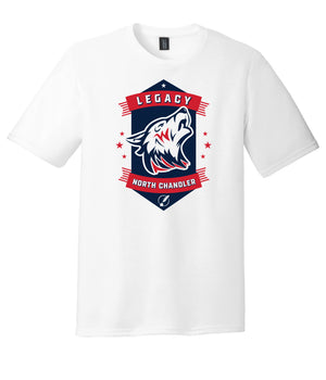 Legacy Traditional School North Chandler - White Spirit Day Shirt w/Mascot