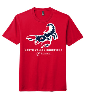 Legacy Traditional School North Valley - Red Spirit Day Shirt