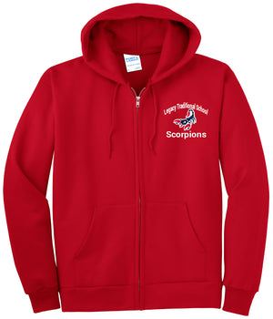 Legacy Traditional School North Valley - Zip Up Hoodies