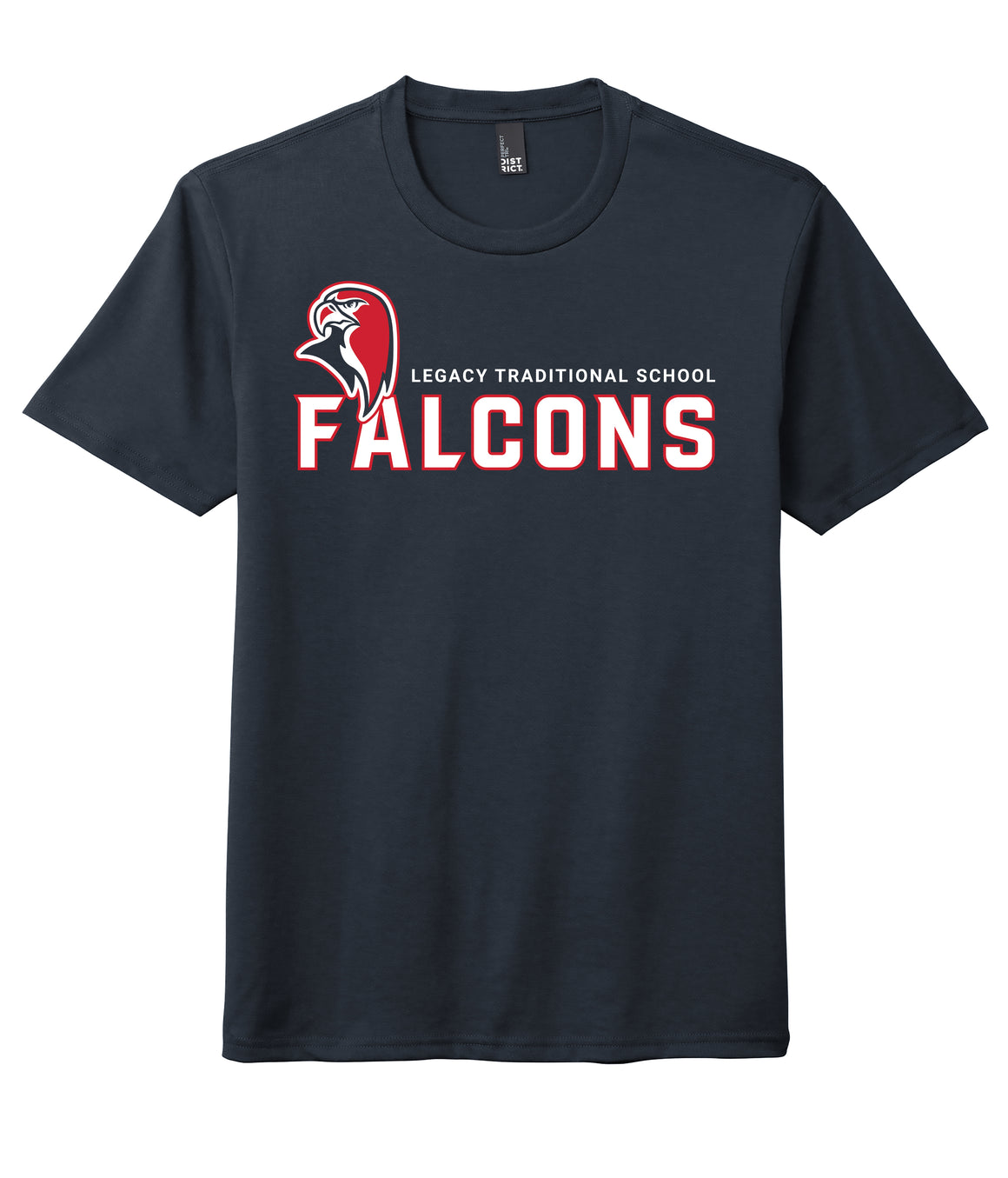 Legacy Traditional School Surprise - Navy Spirit Day Shirt w/Mascot