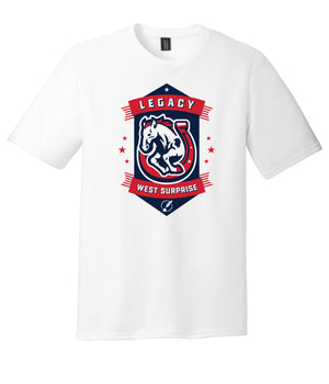 Legacy Traditional School West Surprise  - White Spirit Day Shirt w/Mascot