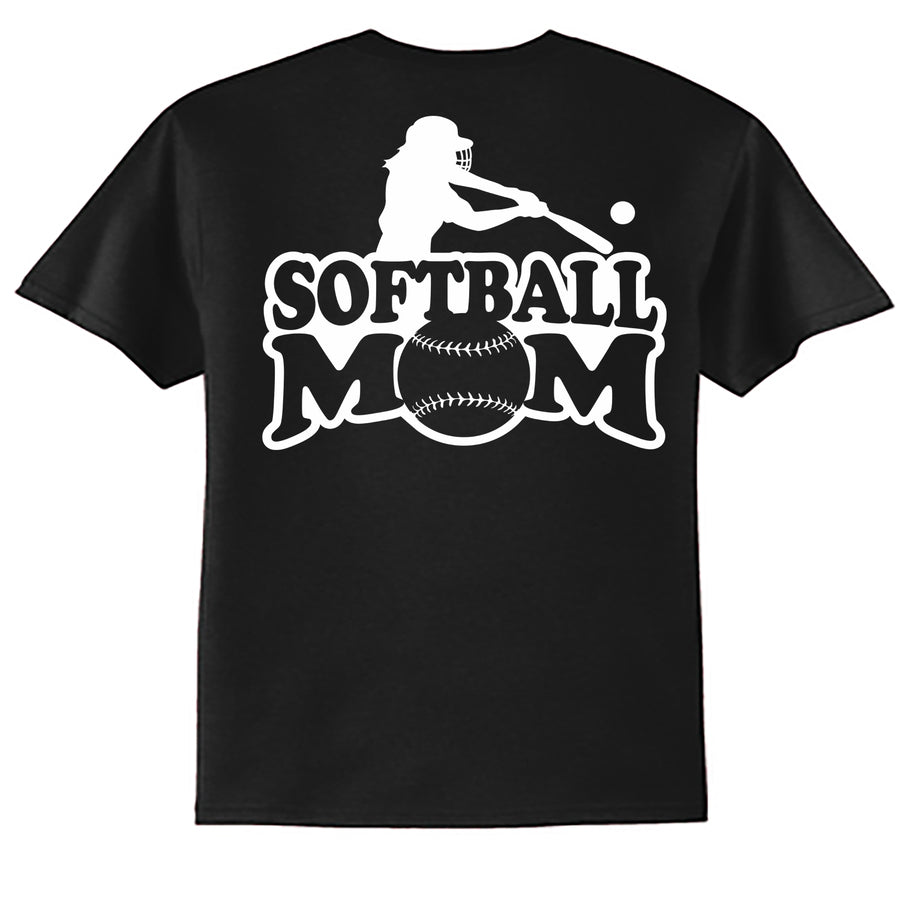 Softball Mom with Player