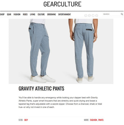 Gear Culture Features Devereux's Gravity Pants