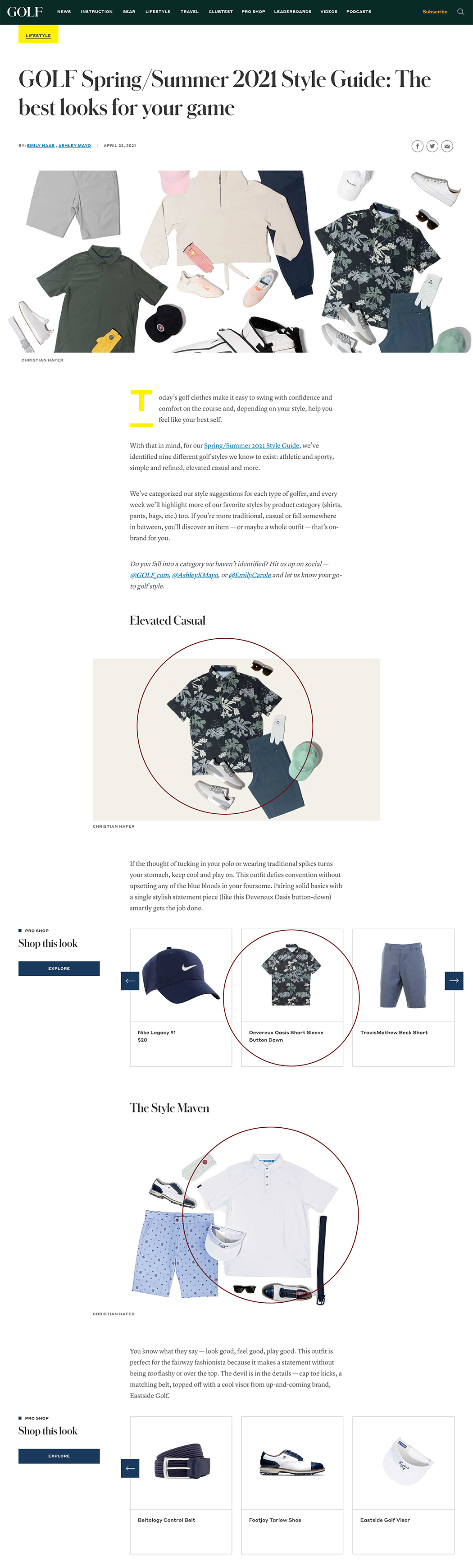 GOLF.com_Devereux_GOLF Spring/Summer 2021 Style Guide: The best looks for your game
