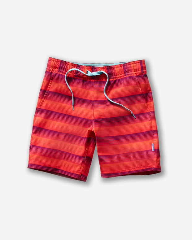 Baja Swim Trunk - Serape Orange