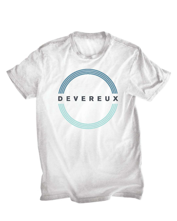 Circle Devereux Graphic TShirt - White