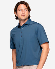 Angel Falls Polo - Deep Blue/Black