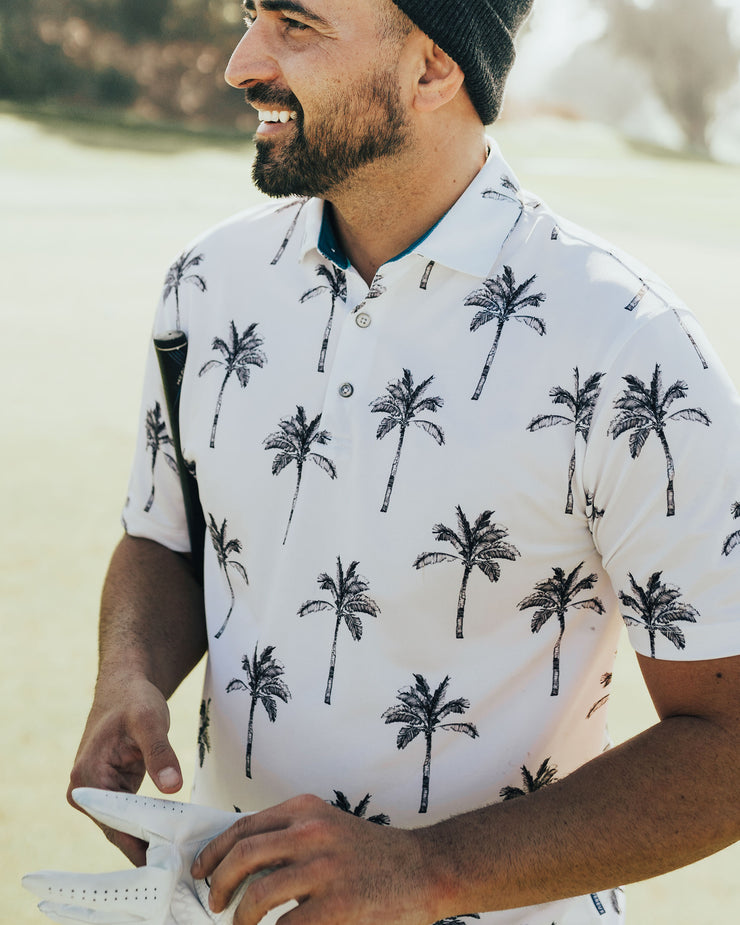 Big Palm Polo - White