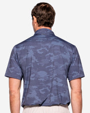 Mojave Camo Polo - Grey/Blue