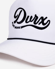 DVRX Play More Hat - White