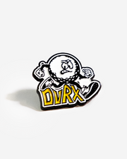 DVRX Running Man Pin