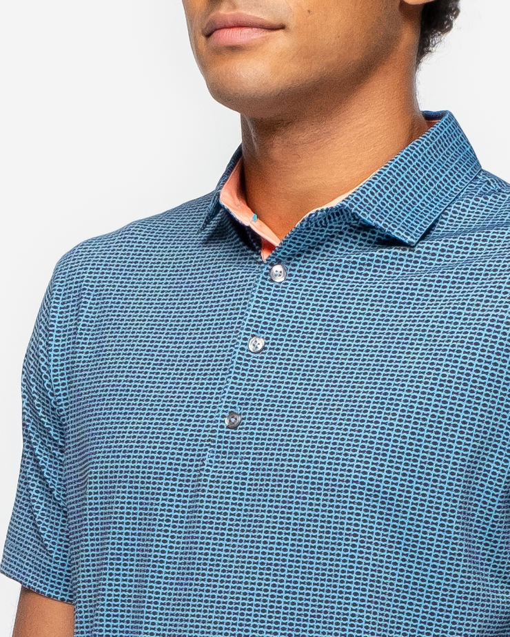 Arcadia Polo - Turkish Blue
