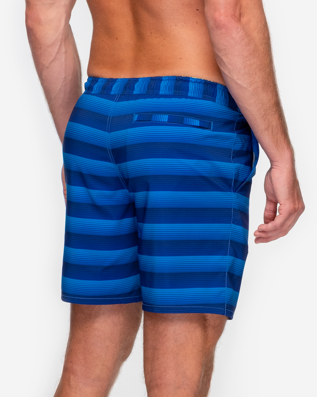 Baja Swim Trunk - Serape Blue