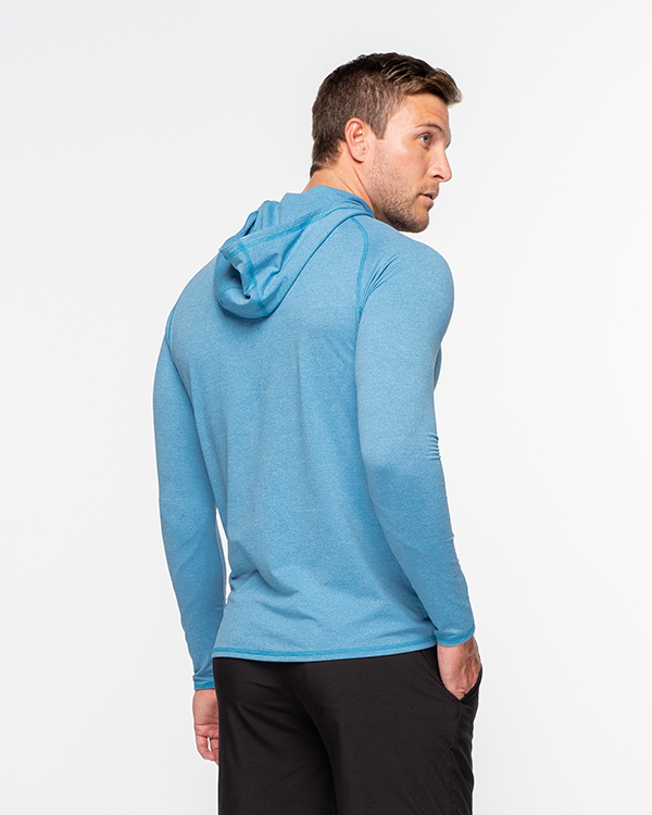 Lay Low Hoodie - Turkish Blue