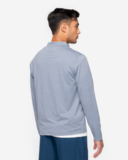 Dark Blue long sleeve quarter zip pullover