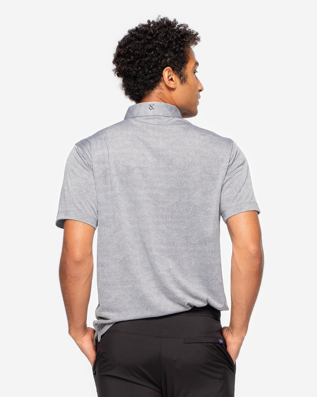 Monaco Polo - Steel Grey