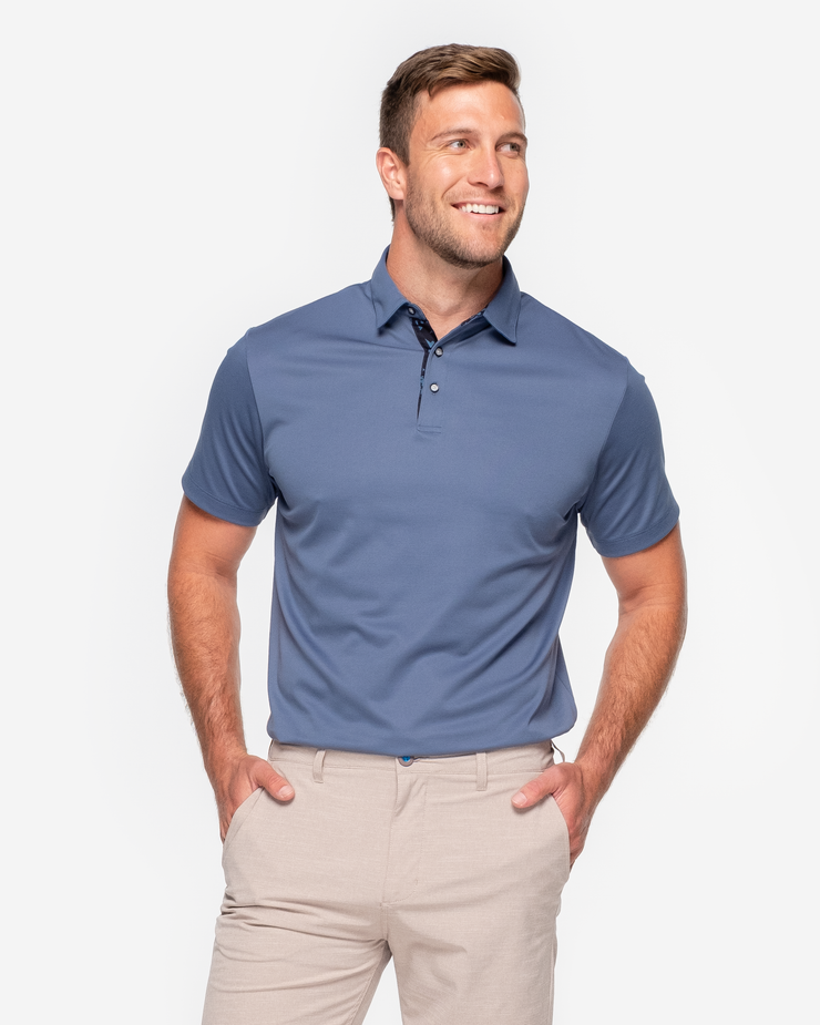 Riviera Polo - Sea Blue