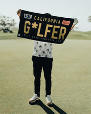 Cali Golfer Golf Towel
