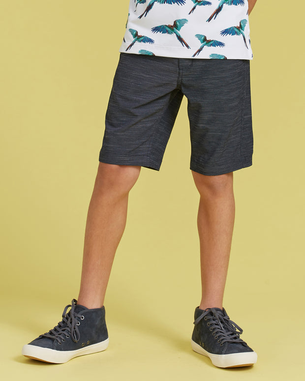 Proper Kids Gravity Short - Navy