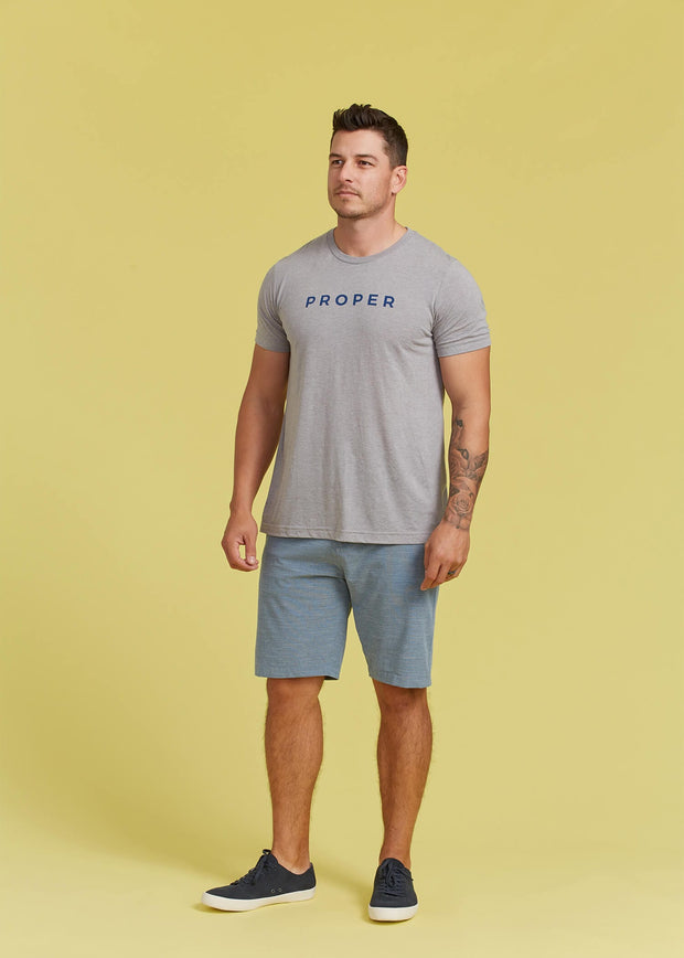 Proper TShirt - Athletic Grey