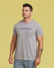Proper T Shirt - Athletic Grey