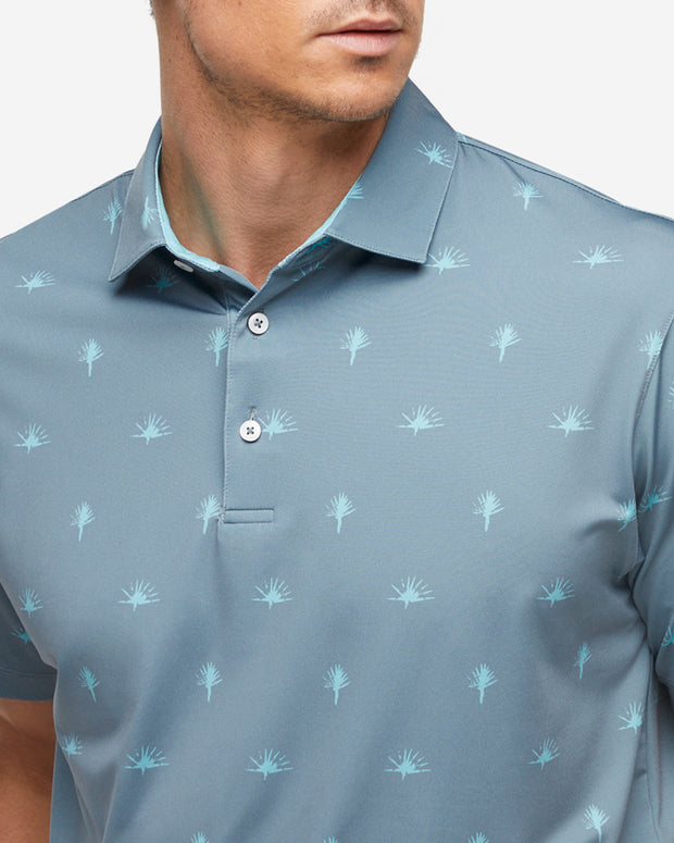 Yucca Polo - Moon Grey/Angel Blue