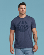Rising Sun TShirt - Heather Navy