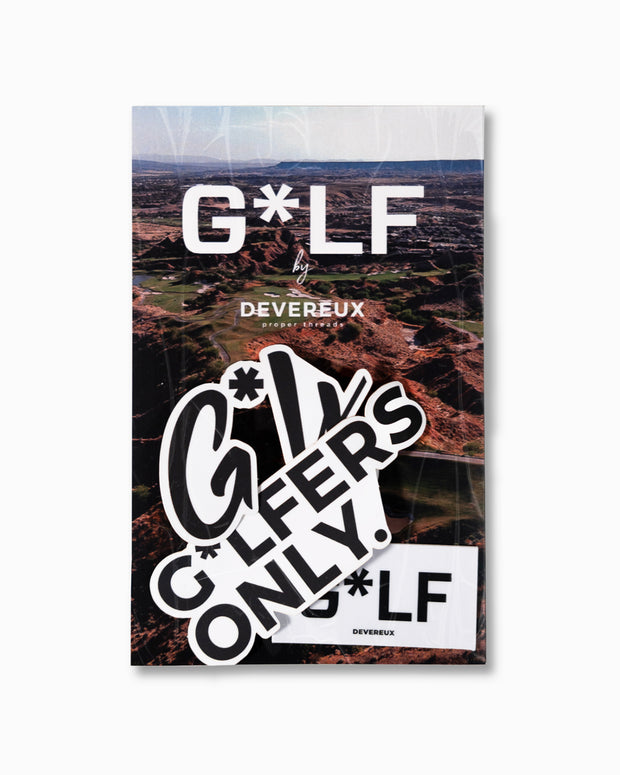 G*LF Stickers - Set of 4