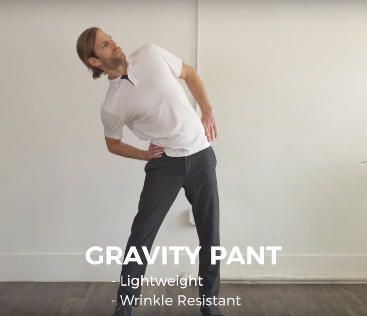 Gravity Active Pant - Heather Black