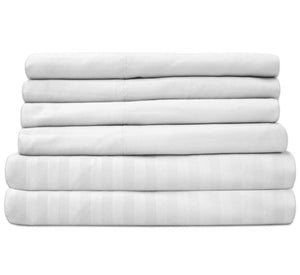 Linen Bed Sheets White