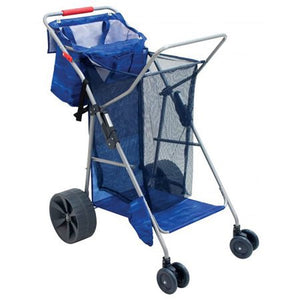 Blue Beach Cart