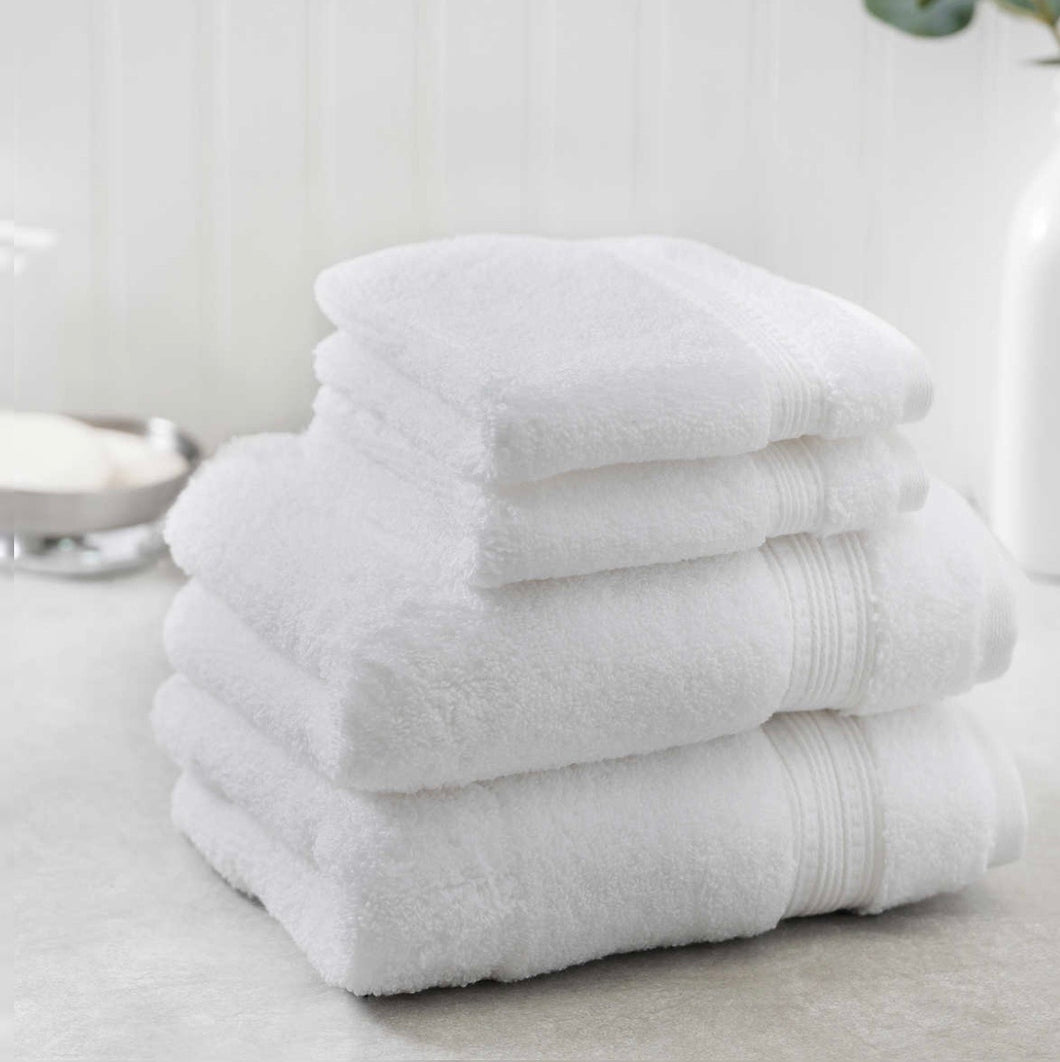 Bath Towels Linen Cotton White Wash Cloth Hand Towel