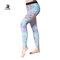 Yoga Pant Womens Tights Running Leggings Sports Pants Female Women Gym Running Mesh Workout Pants Fitness Yoga Pants HK1715
