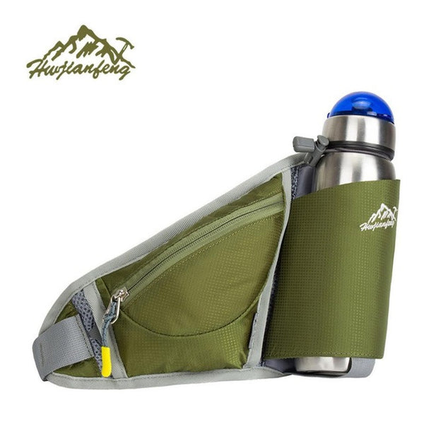 Travel Handy Hiking Belt Zip Pouch Bag Water Bag#W21